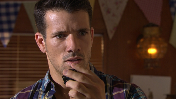 Hollyoaks, Maxine and Dodger find the camera, Thu 4 Sep