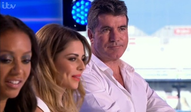 Simon Cowell on The X Factor (31 August).