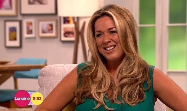 Claire Sweeney talks about pregnancy on Lorraine, ITV Studios, London 2 September