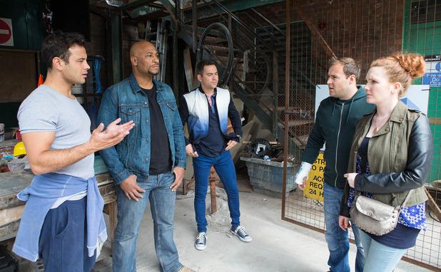 Corrie, Tyrone and Fiz confront Jason, Fri 5 Sep