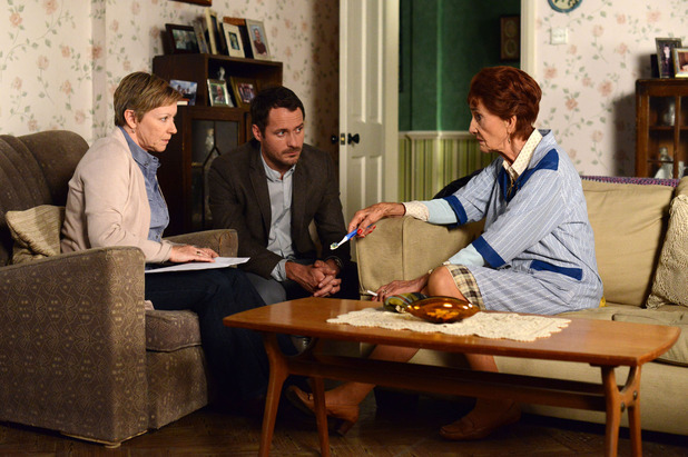 EastEnders, Charlie does DNA test, Thu 4 Sep