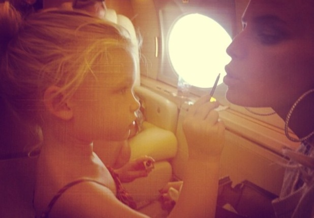 Jessica Simpson and daughter Maxwell, Instagram 3 September