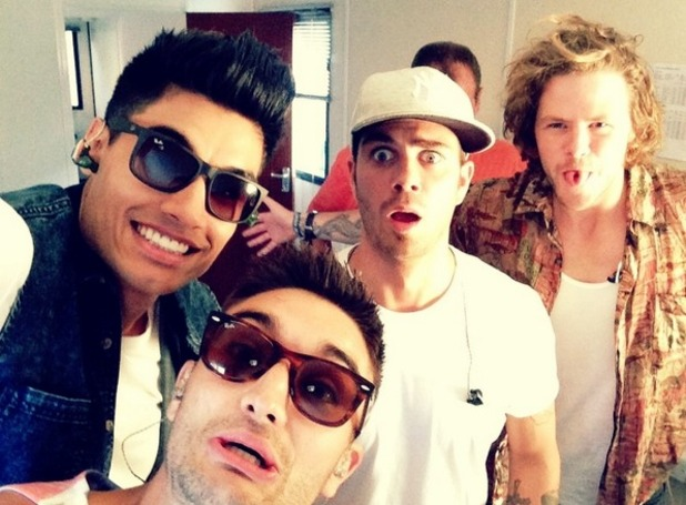 Siva Kaneswaran, Jay McGuiness, Tom Parker, Max George perform at the Fusion Festival in Birmingham on Sunday 31 August.