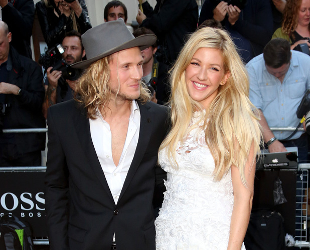 Ellie Goulding and Dougie Poynter, The GQ Awards 2014 held at the Royal Opera House, London 2 September