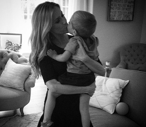 Kristin Cavallari and son Camden, Instagram 30 August