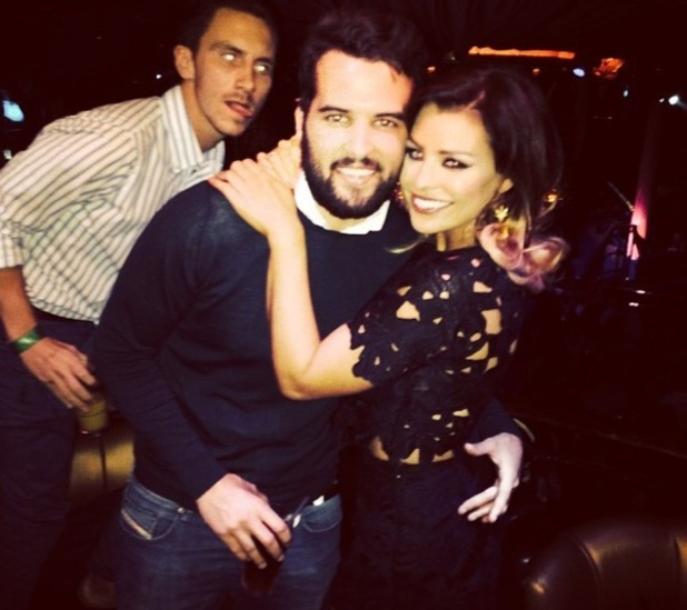 TOWIE Jessica Wright and Ricky Rayment on his birthday, Cafe De Paris, London 30 August