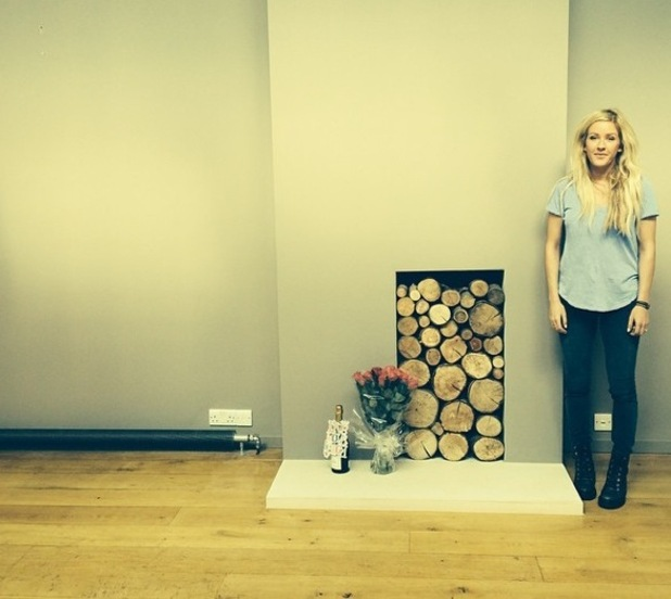 Ellie Goulding moves into new home, London 3 September