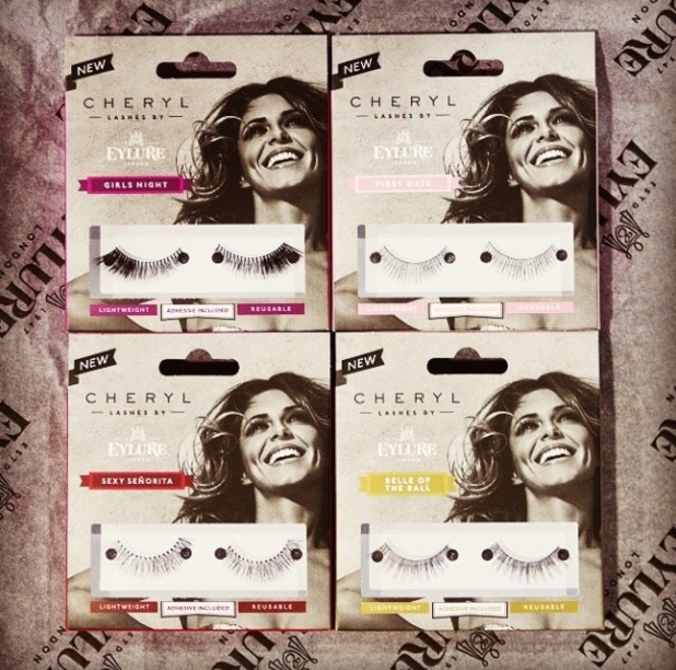 Cheryl Fernandez-Versini unveils new Eylure false eyelash range - 3 August 2014