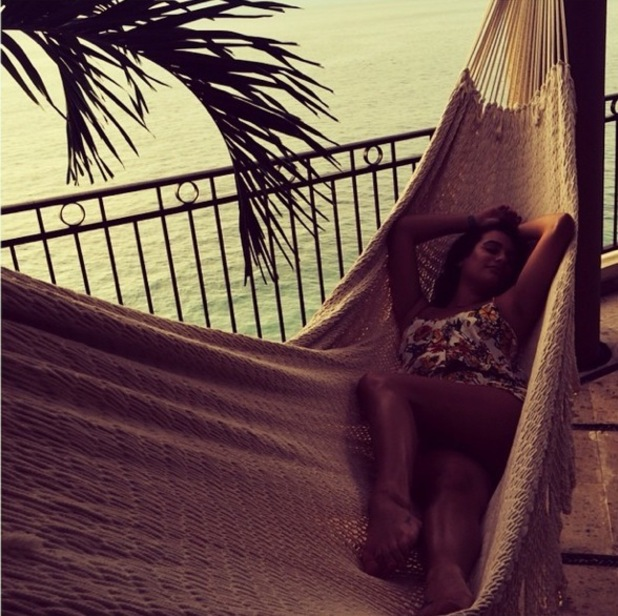 Lea Michele holidays in Mexico 2 September