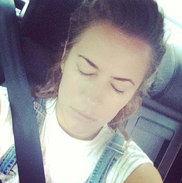 Caroline Flack heads to Strictly Come Dancing rehearsals, London 3 September