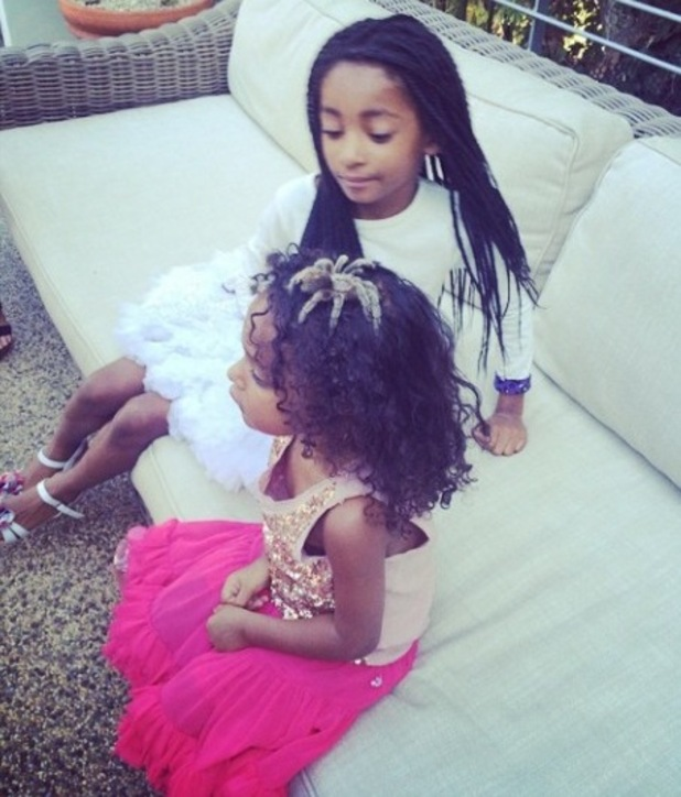 Mel B celebrates daughter Madi's 3rd birthday with scary animal party - 1 September 2014