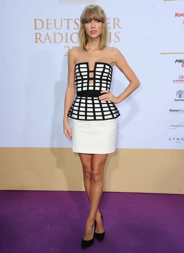 Taylor Swift attends the German Radio Awards 2014, Germany 4 September