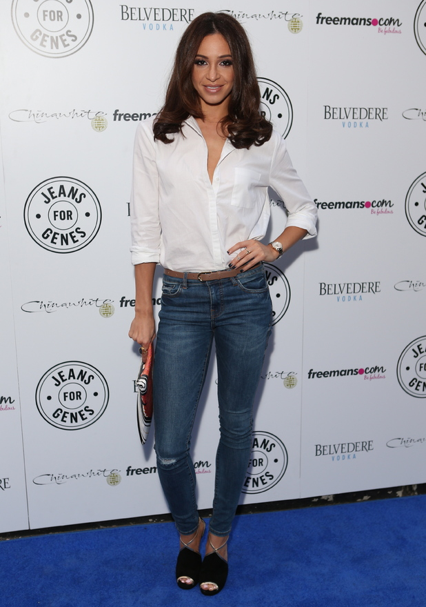 Danielle Peazer attends the Jeans for Genes 2014 party held at Chinawhite in London, England - 2 September 2014
