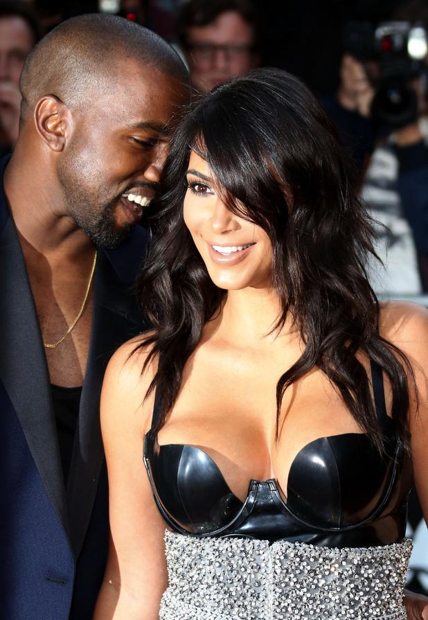 Kim Kardashian and Kanye West, The GQ Awards 2014 held at the Royal Opera House, London 2 September
