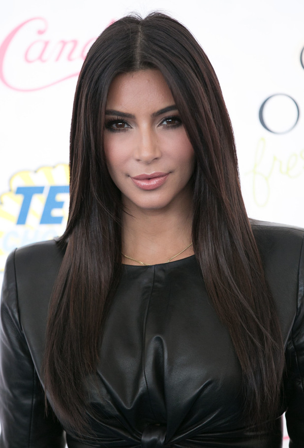 Kim Kardashian West attends the Teen Choice Awards 2014 in Los Angeles, America - 10 August 2014