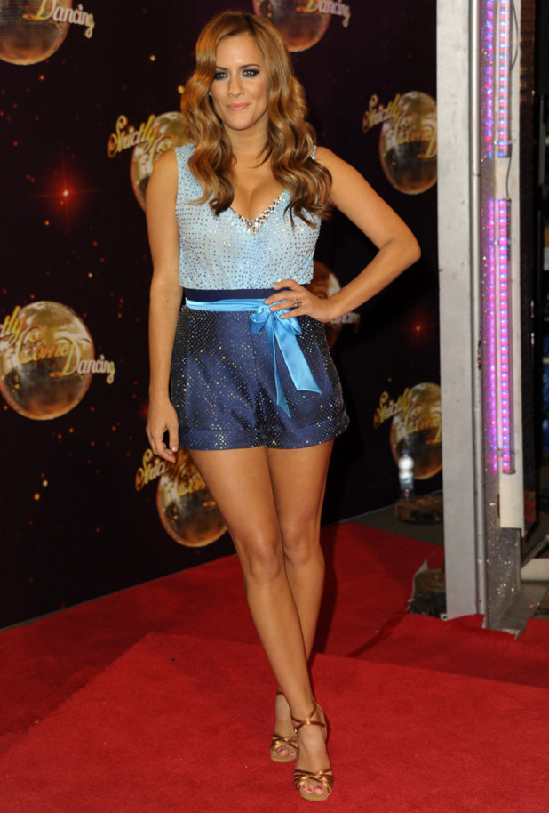 strictly come dancing 2014 launch night caroline flack