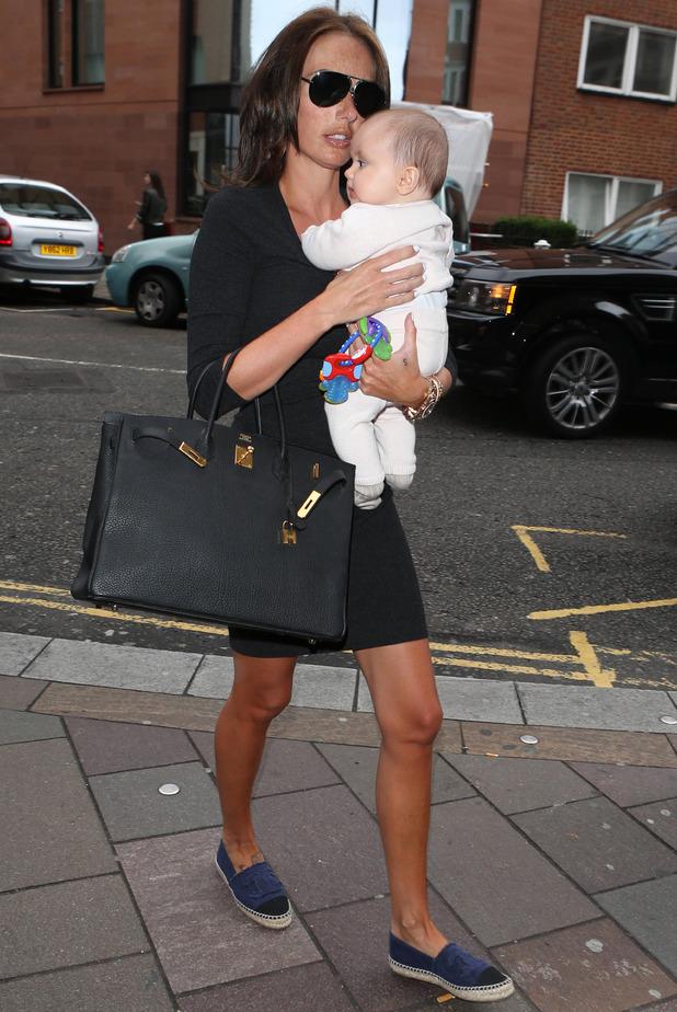 Tamara Ecclestone and baby Sophia at Harrods in London 1 Sep 2014