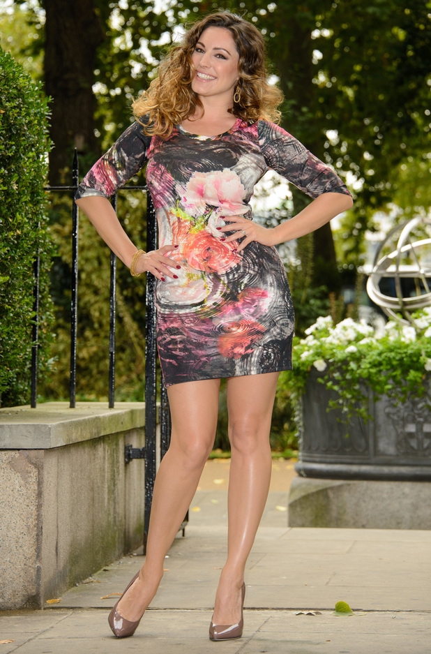 Kelly Brook launches her new clothing collection for Simply Be at The Savoy Hotel in London, England - 3 September 2014