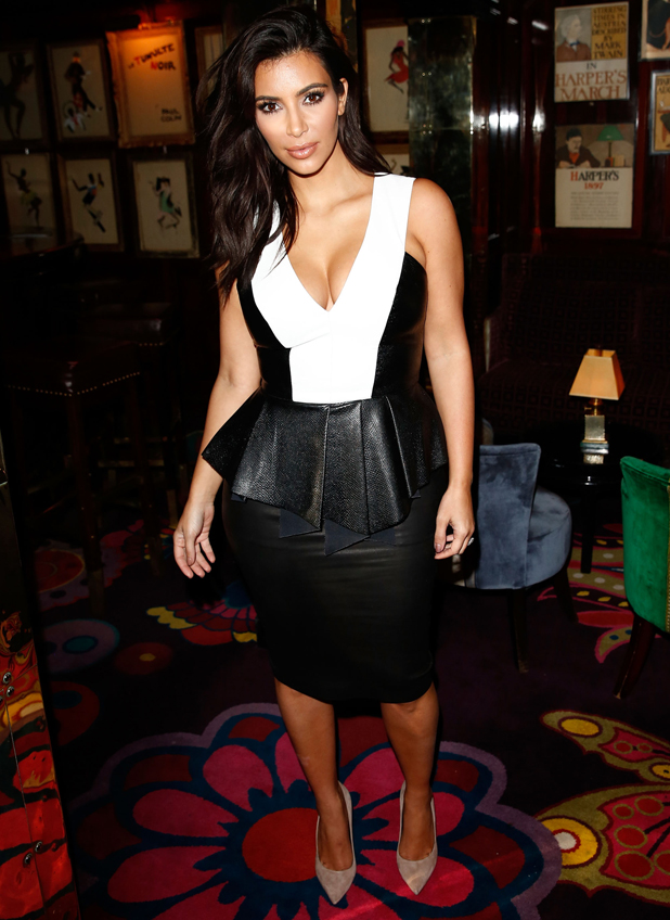 Kim Kardashian attends the GENETIC X Liberty Ross Launch Event At Annabel's on September 3, 2014 in London, United Kingdom.