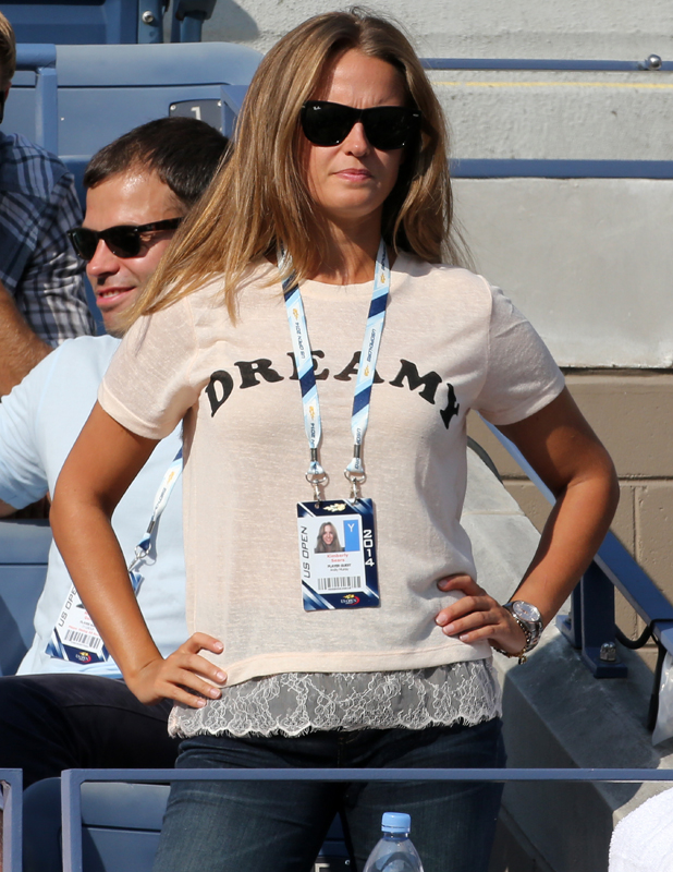 Kim Sears attends Day 8 of the 2014 US Open at USTA Billie Jean King National Tennis Center on September 1, 2014.