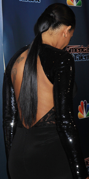 Mel B at America's Got Talent red carpet event held at Radio City Music Hall, 3 September 2014