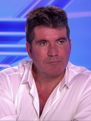 Simon Cowell on series 11 of The X Factor - 8 September 2014.
