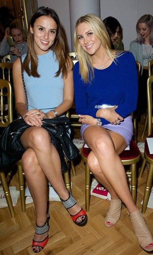 Lucy Watson and Stephanie Pratt at Fearne Cotton's Very Fashion launch - 12 September.