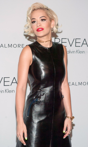 Rita Ora attends the REVEAL Calvin Klein Fragrance Launch Party at 4 World Trade Center on September 8, 2014 in New York City. (Photo by Steven A Henry/WireImage)