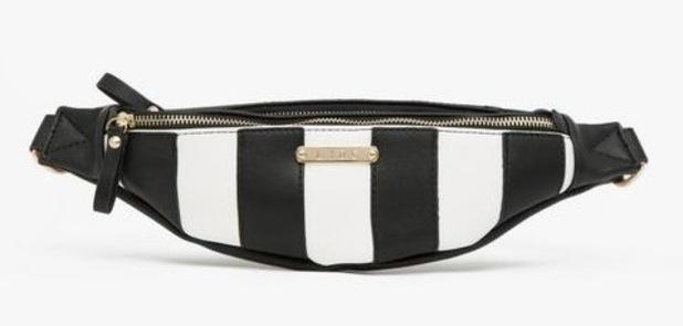 LYDC Mono Stripe Bumbag, £15, BANK Fashion