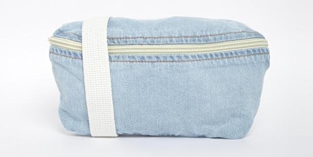 American Apparel Bum Bag in Light Wash Denim, £20, ASOS