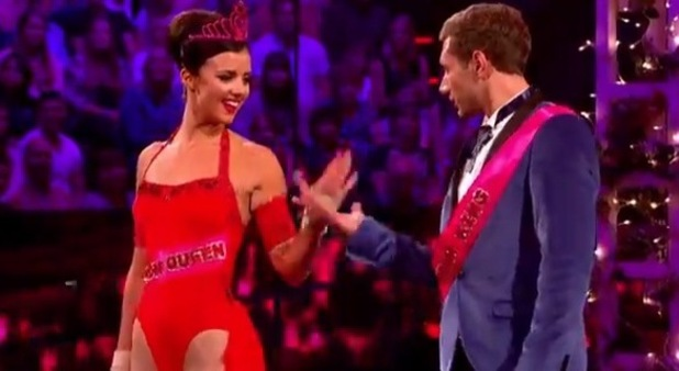 Lucy Mecklenburgh's semi-final performance on Tumble 6 September