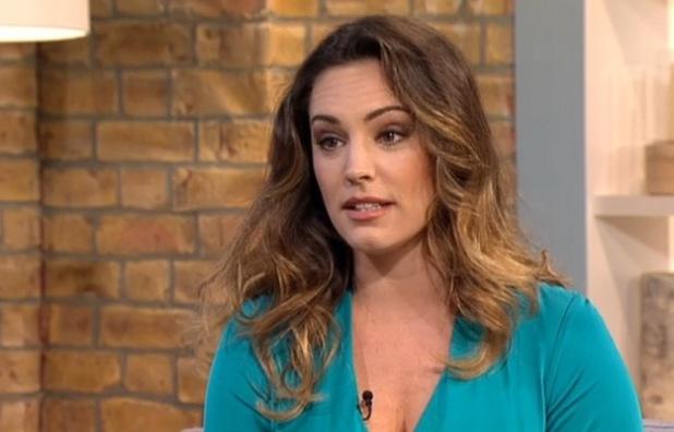 Kelly Brook appears on This Morning, ITV Studios, London 8 September