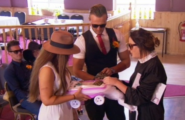 Geordie Shore finale, Holly Hagan and Kyle Christie at tortoise wedding, MTV 9 September