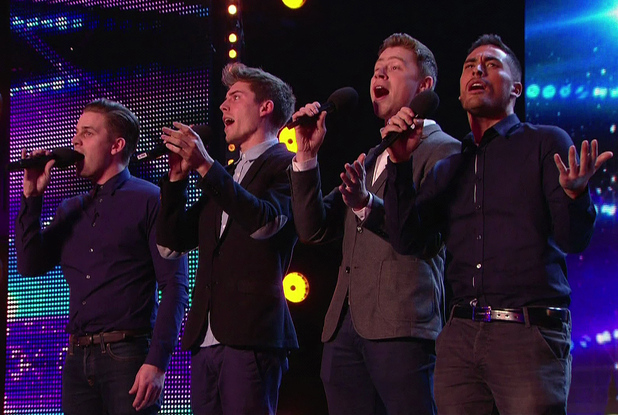 Jack Pack audition for 'Britain's Got Talent' - ITV1 HD. 6 May 2014.