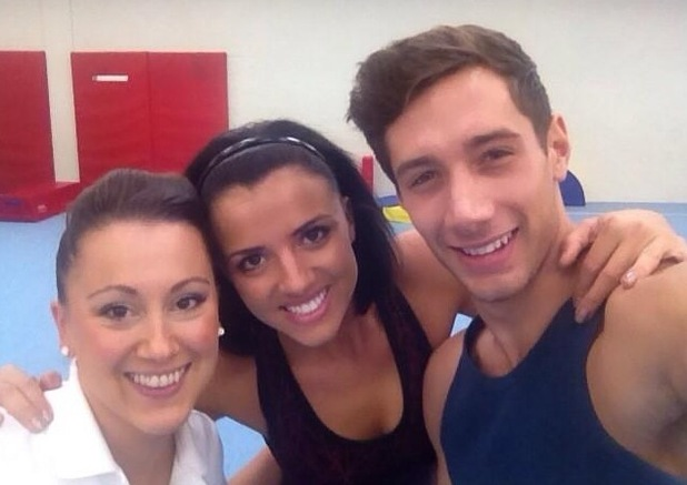 Lucy Mecklenburgh shares photo of herself and Tumble team - Katie Richards and Billy George 10 September