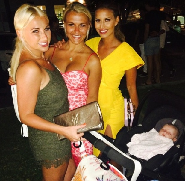 TOWIE's Billie Faiers takes baby Nelly on girls' holiday to Marbella with Sam, Gemma Collins, Ferne McCann - 8 September 2014