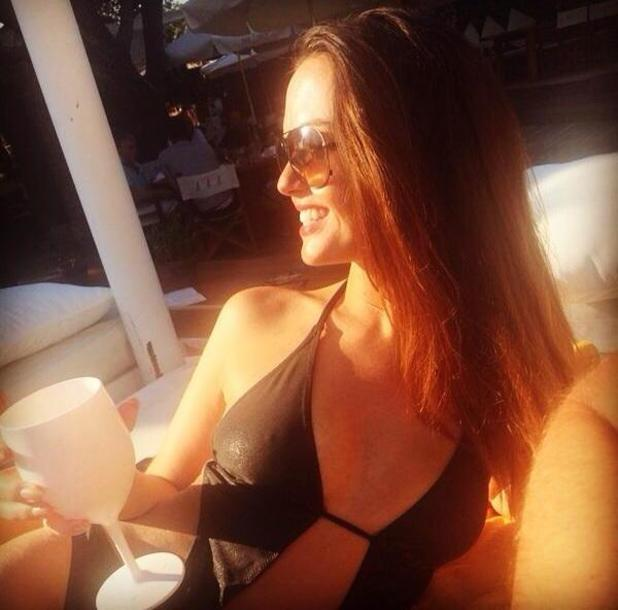 Hollyoaks' Jennifer Metcalfe visits the south of France for her birthday - 10 Sep 2014