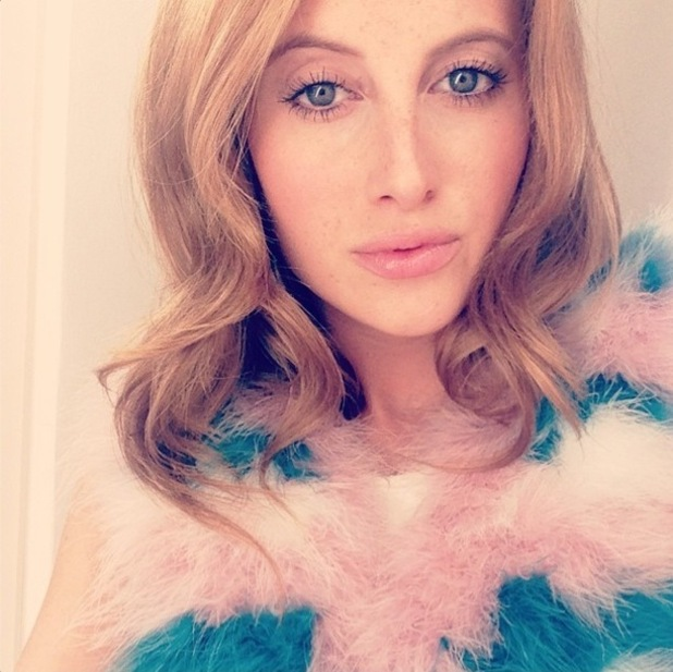 Made In Chelsea's Rosie Fortescue takes an Instagram selfie - 10 August 2014