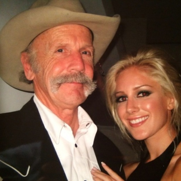 Heidi Montag and her father Bill at hers and Spencer Pratt's rehearsal dinner, which aired in The Hills - 12 September 2014