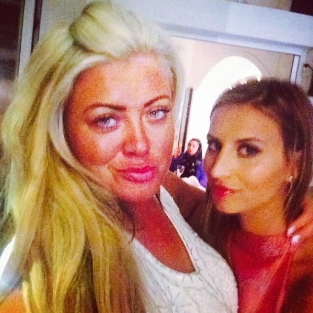 TOWIE's Gemma Collins and Ferne McCann pull their best 'Lauren Goodger' pouts in Marbella - 8 September 2014