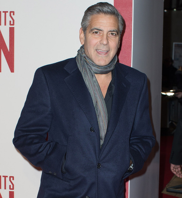 George Clooney - The UK Premiere of 'The Monuments Men' held at the Odeon Leicester Square - 11 Feb 2014