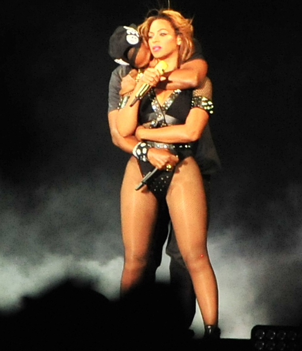 Beyoncé and Jay-Z perform in Paris for their 'On the Run Tour', 12 September 2014