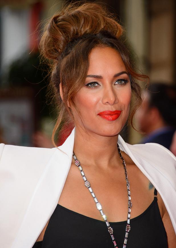 Leona Lewis at U.K. premiere of 'Walking on Sunshine' held at the Vue Cinemas - Arrivals - 11 June 2014