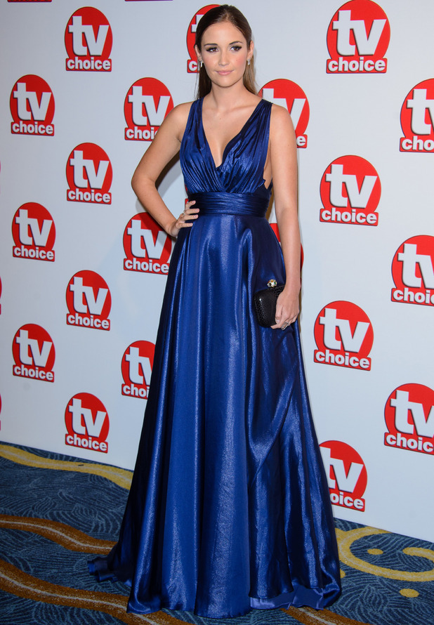 Jacqueline Jossa, TV Choice Awards 2014 - Arrivals - The Hilton, London, United Kingdom When: 08 September 2014