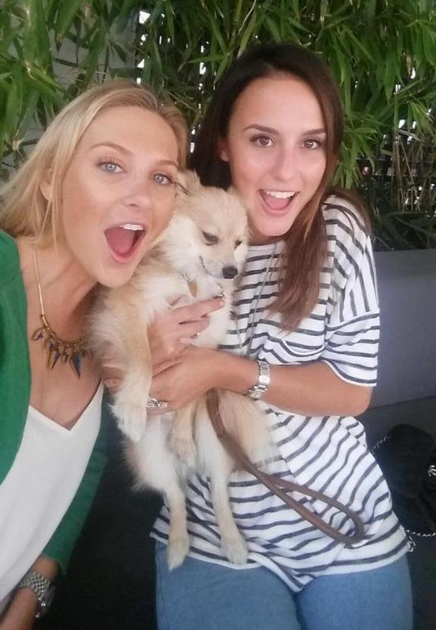 Stephanie Pratt reunites with Lucy Watson after Celebrity Big Brother exit (7 September).