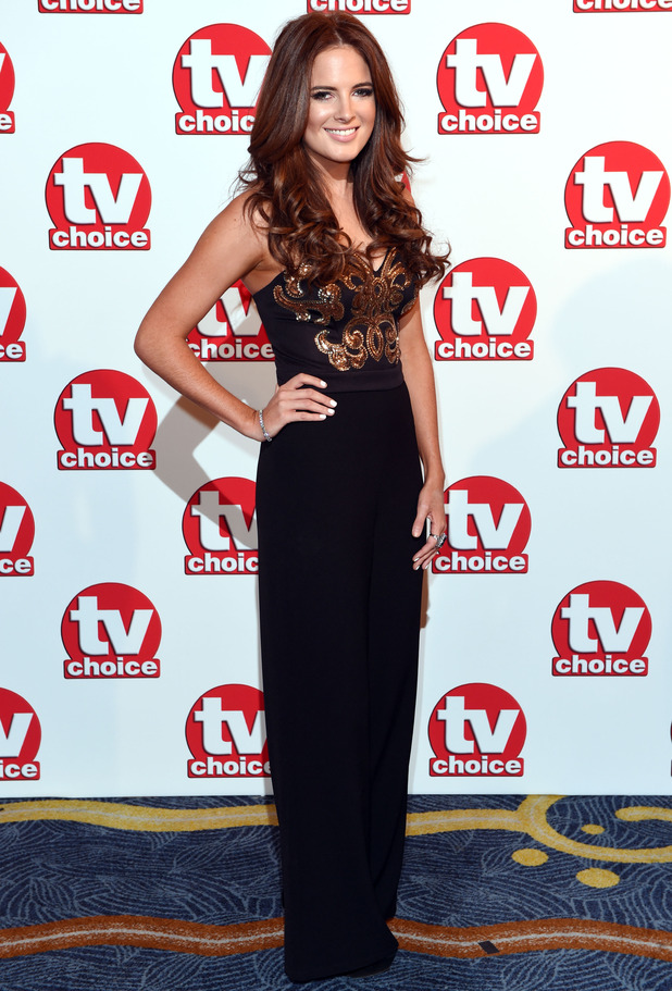 Binky Felstead at the TV Choice Awards, London 8 September