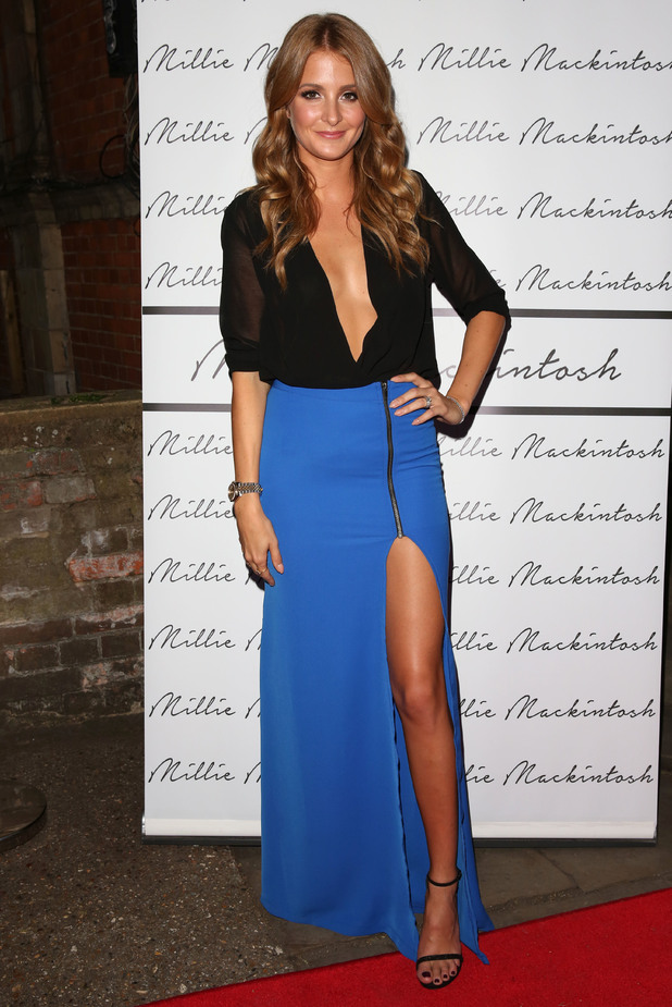 Millie Mackintosh attends the launch of her clothing collection in Notting Hill, London - 10 September 2014