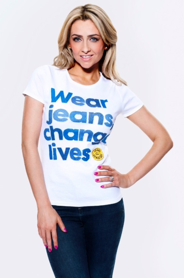 Hollyoaks actress Gemma Merna fronts Jeans for Genes campaign - September 2014.