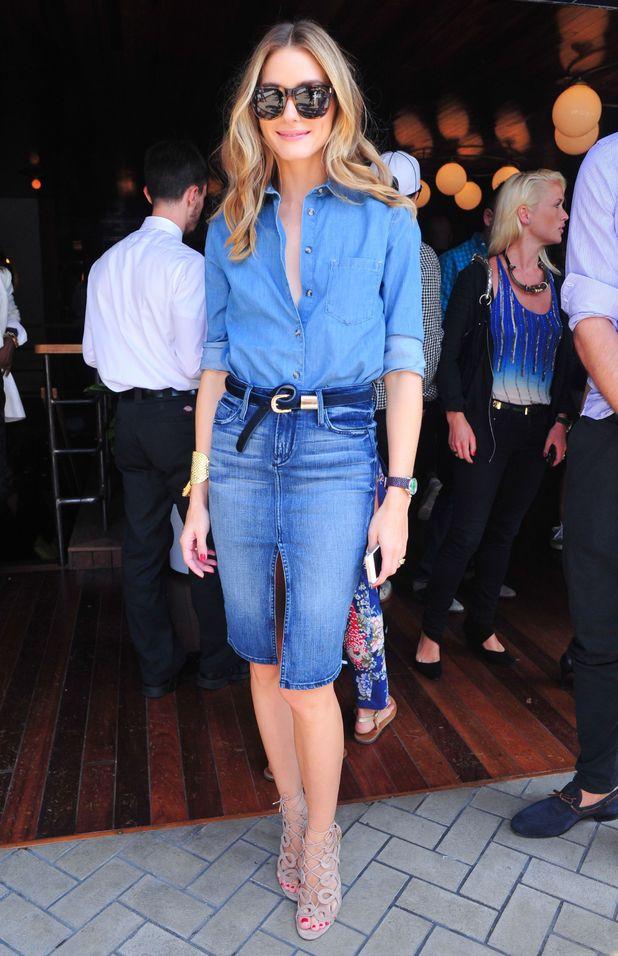Olivia Palermo attends the Gant Rugger spring/summer '15 presentation at New York Fashion Week - America - 5 September 2014