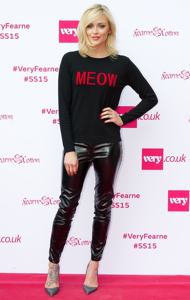 Fearne Cotton at the launch of her Very.co.uk spring/summer '15 collection, held at One Marylebone in London, England - 11 September 2014